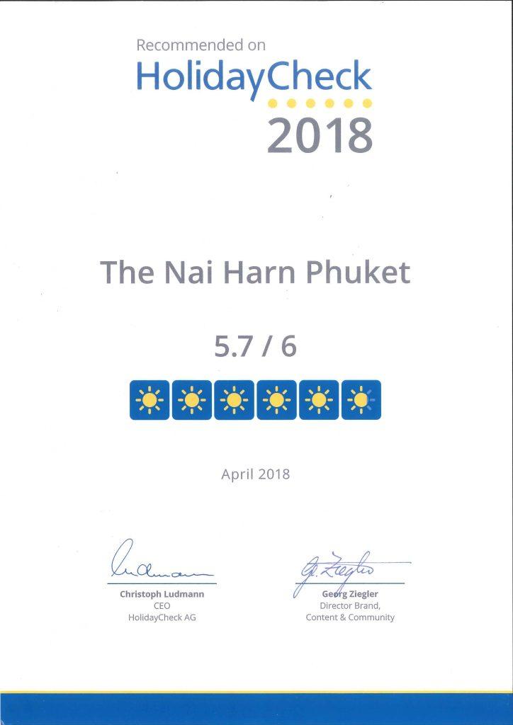 The Nai Harn Phuket   5 Star Resort in Nai Harn Beach